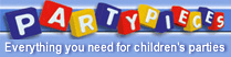 Party Pieces -  Everything you need for children's parties